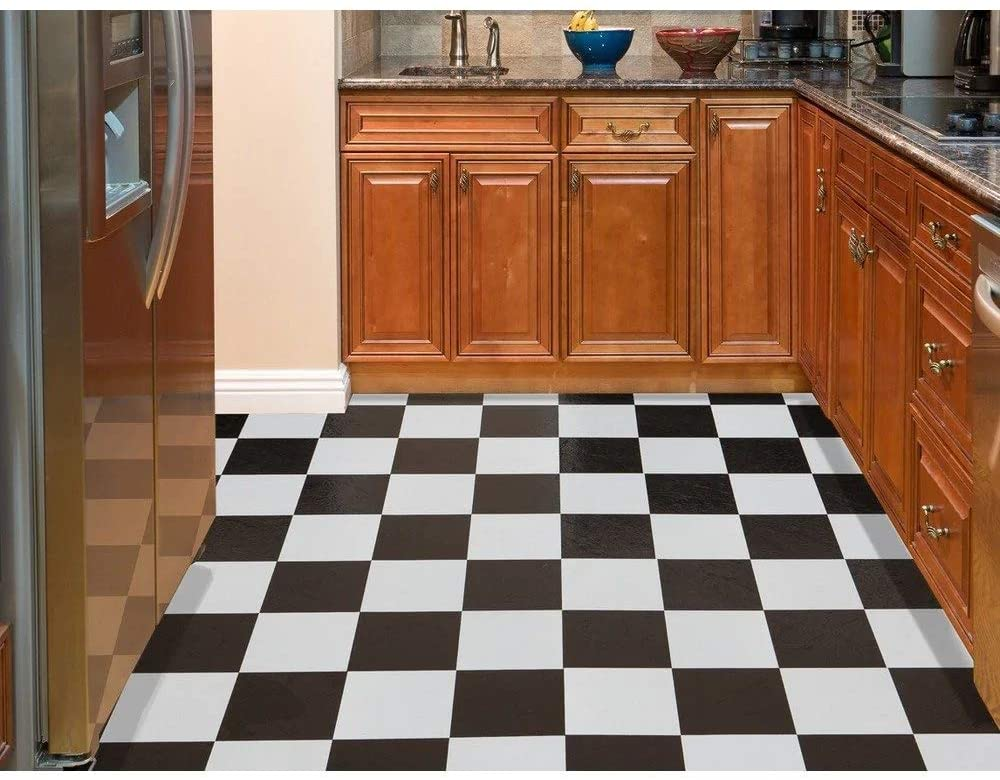 NEXUS Self Adhesive Vinyl Floor Tile – 20 Tiles