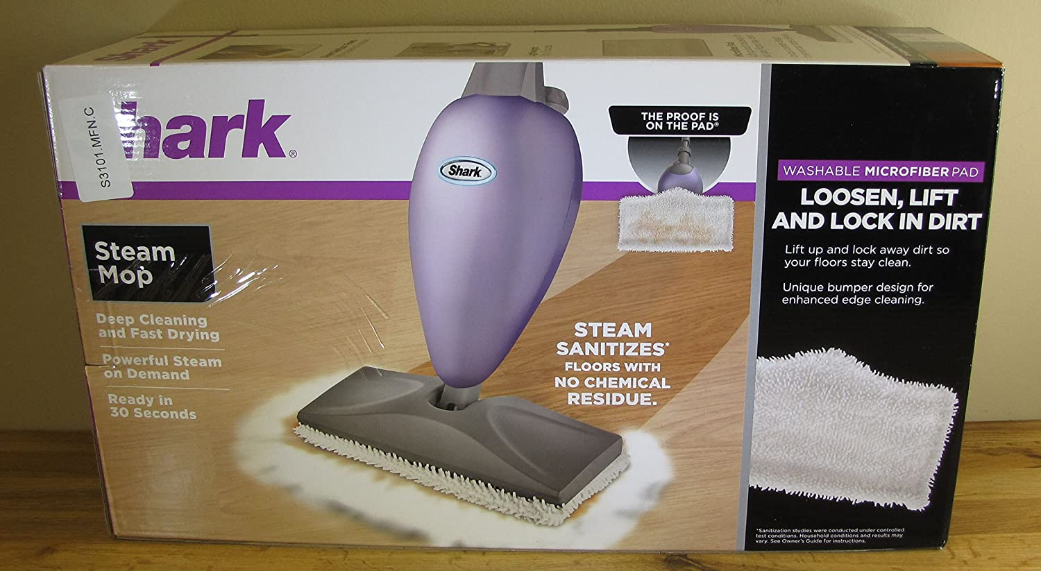 SharkNinja S3101 Original Steam Mop