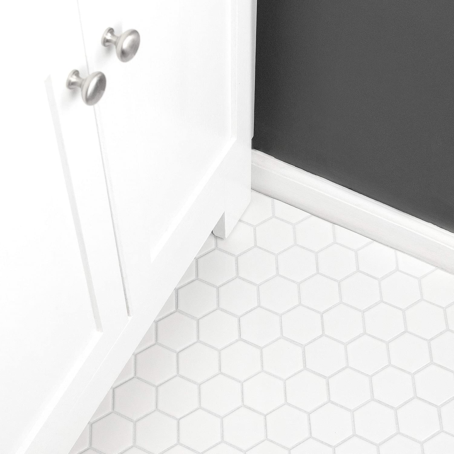 SomerTile FXLM1HMG Retro Hex Floor and Wall Tile