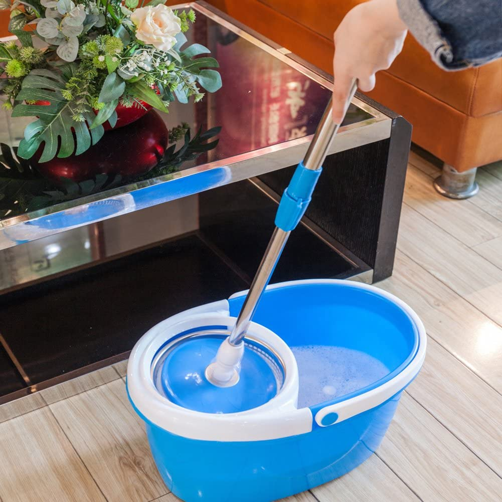 Valuebox 360° Spin Mop with Stainless Steel Bucket