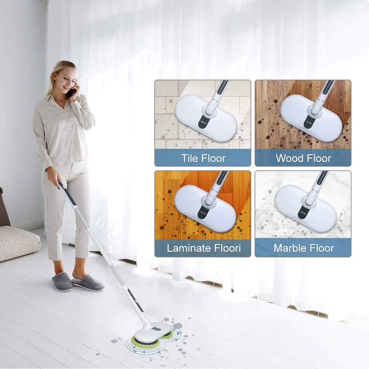 OGORI Electric Mops for Floor Cleaning